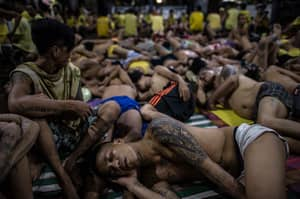 Awful Images Capture The Inhumane Nature Of Imprisonment In A Philippines Jail