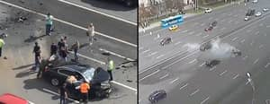 Vladimir Putin's Official Car Involved In Head-On Crash In Moscow