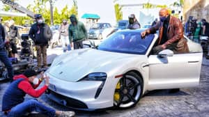Shooting On Red Notice Thwarted 'Cause The Rock Couldn't Fit In Porsche