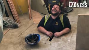 Man Loses Almost 11 Stone After Getting Stuck Between Floorboards At Work