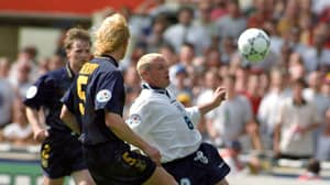 Paul Gascoigne's Wind-Up For Scotland Keeper After Euro '96 Goal Almost Got Him 'Knocked Out'