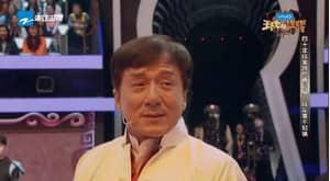 Jackie Chan Breaks Down As His Old Stunt Team Surprise Him On TV