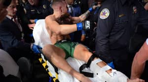 Conor McGregor Breaks Leg In Brutal First Round Loss To Dustin Poirier