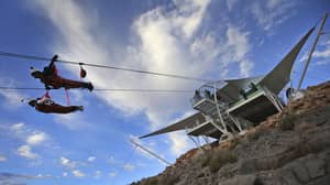 New World Record: The Longest Zip-Line In The World Has Opened In The UAE