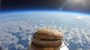 Big Mac Sent To Space Lands On Colchester United's Training Ground