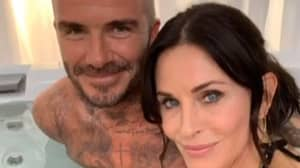 Fans Quick To Point Out What Courteney Cox's Hand Is Doing In David Beckham Selfie