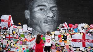Marcus Rashford 'Overwhelmed' By Support After People Covered Vandalised Mural With Supportive Notes