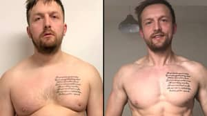 Incredible Transformation Of Dad Who Piled On The Pounds After His Son Was Born