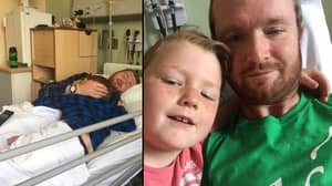 Young Father Given Just Weeks To Live Cuddles Son In Hospital