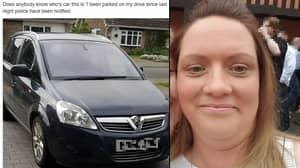Homeowner Calls Police After Finding Stranger's Car On Her Drive
