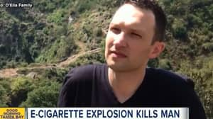 Man Dies After E-Cigarette Explodes, Autopsy Finds