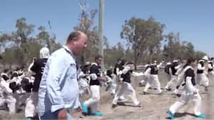 Aussie Farmer Screams 'Get Off My F**king Country' As 100 Vegans Storm His Property