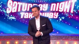 Declan Donnelly Gets Standing Ovation After Presenting 'Saturday Night Takeaway' Alone