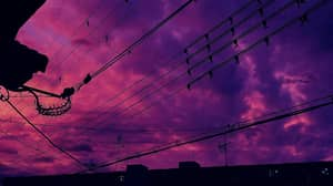 Locals In Japan Share Photos Of Stunning But Ominous Purple Skies Due To Typhoon Hagibis