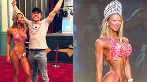 Olly Murs Celebrates After Girlfriend Wins Bodybuilding Competition