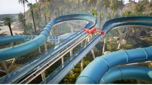 A Roller Coaster And Water Slide Hybrid Ride Could Be The Future