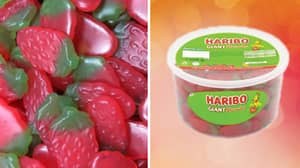 Iceland Is Selling Huge Boxes Of Haribo Strawberry Sweets For £4
