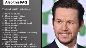 Mark Wahlberg Reveals What He Actually Does During His '90 Minute Shower'