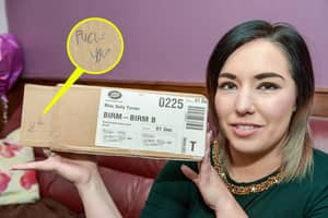 Woman Receives Worst Christmas Present Ever, A Note Saying 'Fuck You'