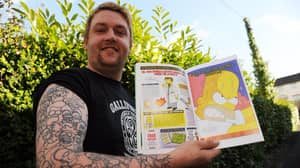 This Man Views Homer Simpsons As A Father Figure And Has His Face Tattooed 52 Times On His Arm