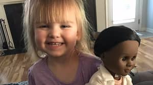 Toddler Shuts Down Cashier Who Questions Skin Colour Of Her Doll