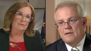 Tracy Grimshaw Roasted The Hell Out Of Scott Morrison Over His Recent Leadership