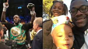 Deontay Wilder Opens Up About Becoming A Boxer To Support His Daughter