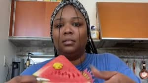 Lizzo Tries Bizarre Mustard On Watermelon Trend And Posts Reaction