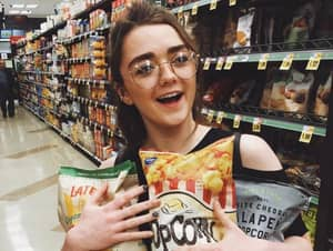Maisie Williams Crashes UCLA 'Game of Thrones' Viewing Party