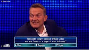 Bradley Walsh Struggles To Contain Himself On The Chase