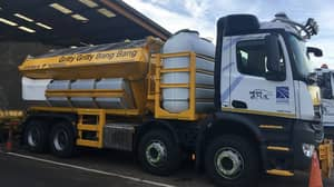 Scotland Names Ice Gritters 'Gritty Gritty Bang Bang', 'Ready Spready Go' And 'Mr Plow'