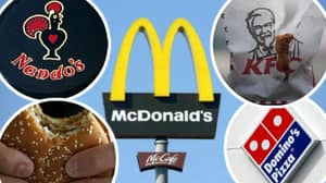 These McDonald's, KFC, Domino's And Nando's Meals Could Be Banned Following 'Calorie Cap'