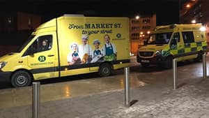 Morrisons' Vans Look So Much Like Ambulances Even Paramedics Can't Tell The Difference