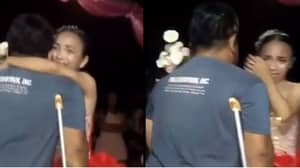 Disabled Father Dances With Daughter For The First Time