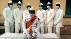 Ghana's Dancing Pallbearers Share Coronavirus Message