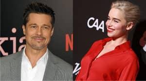 Brad Pitt Bids $120,000 For 'Date' With Emilia Clarke