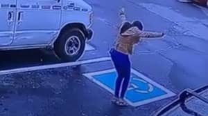 Woman's Car Park Dance After Getting Job Goes Viral
