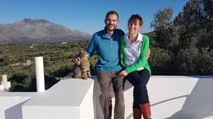 Couple Ditch Jobs And Retire In Their 30s To Live On Greek Island