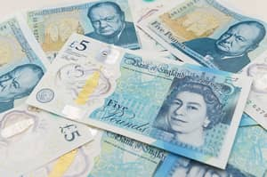 A New Campaign Means People Are Donating Their First Polymer Fiver To Charity