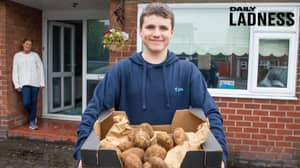 Teenager Makes £1,500 After Setting Up Lockdown Business Flogging Potatoes