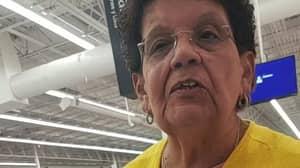 Hispanic Man Films Walmart Employee Telling Him To Speak English