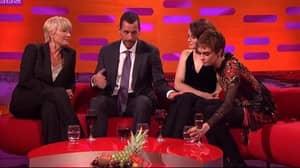 Claire Foy Responds To Adam Sandler's 'Inappropriate' Behaviour On 'Graham Norton Show'