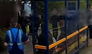 WATCH: Lorry Driver Saves Young Lad From Gang Of Teenage Bullies