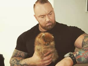 The Mountain From 'Game Of Thrones' Has Adopted A Really Tiny Puppy