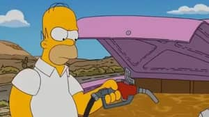 The Simpsons Fans Think Show 'Predicted' Current Fuel Shortage In 2010