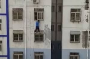 Get This Guy A Medal For Saving A Toddler In Spider-Man Style
