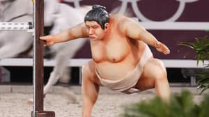 Horses Are Getting 'Spooked Out' By Giant Sumo Statue At Tokyo Olympics