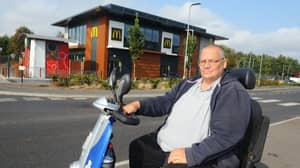 Disabled Man On Mobility Scooter Refused Service At McDonald's Drive-Thru