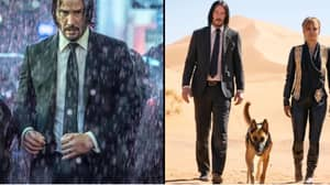 Keanu Reeves On The Run In First Look Photos Of John Wick 3