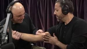 David Blaine Asks Joe Rogan To Stab Him With An Ice Pick